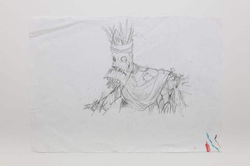 Boggart Arsonists sketch A3 size $300