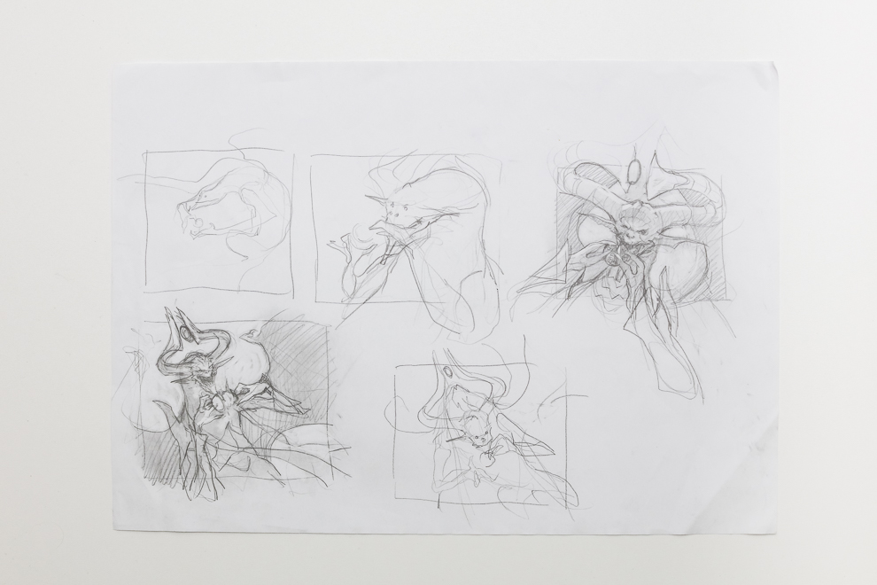 Deep Analysis sketch A3 size $400