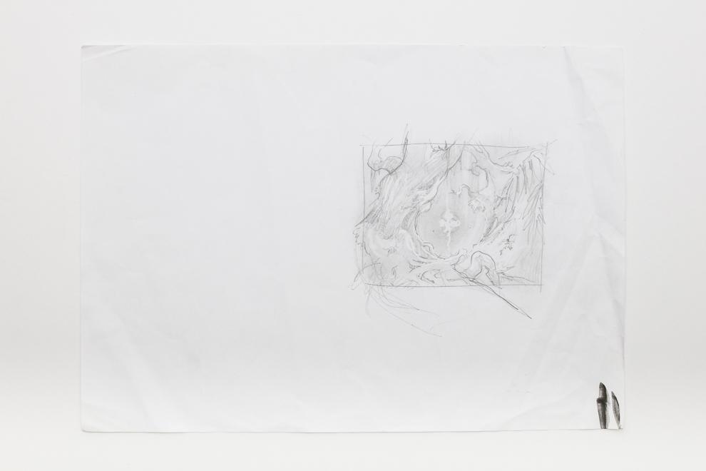 Naya Charm sketch 2/4 A3 size Set $500