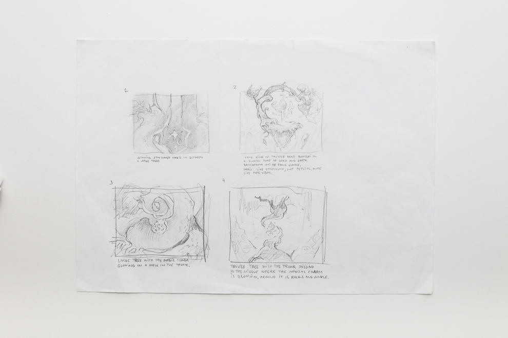 Naya Charm sketch 3/4 A3 size Set $500
