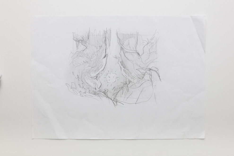 Naya Charm sketch 4/4 A3 size Set $500