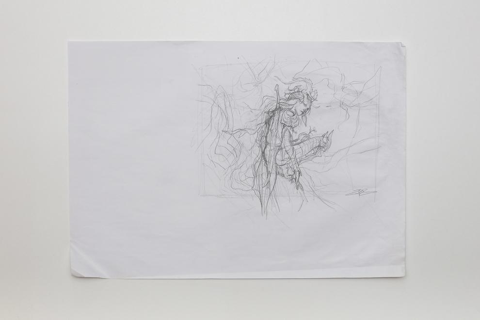 Safehold Elite sketch A2 size $250